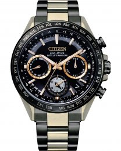 Reloj Citizen satélite cc4016-75e HAKUTO-R edición limitada titanio bicolor