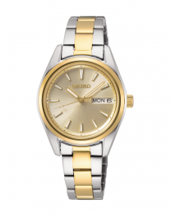 Reloj Seiko sur354p1 mujer bicolor zafiro