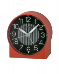 Reloj Seiko qhe136r despertador plástico rojo luz silencioso