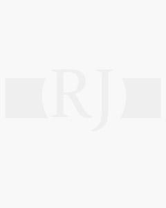 Reloj Seiko Presage srq023j1 cronómetro automático en acero con cristal zafiro, esfera blanca esmaltada, números romanos y correa de cocodrilo negra con cierre deployante, calibre 8r48