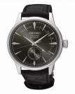 Reloj Seiko Presage Cocktail ssa345j1est automático para hombre en acero y piel, cristal bombé con calibre 4r57